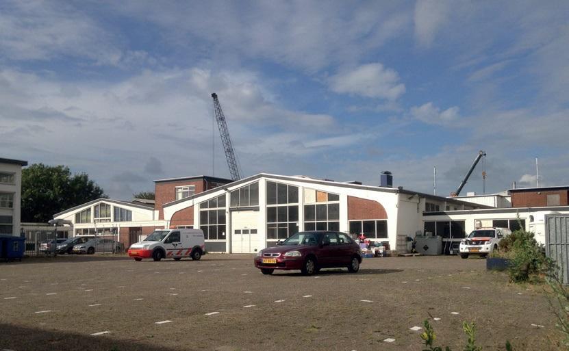 karakteristiek bedrijfsgebouw Binckhorst