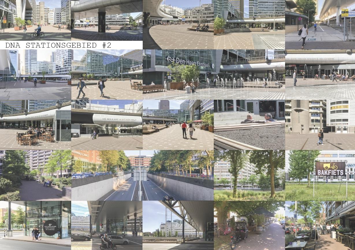 foto's gebruik stationsgebied Den Haag CS