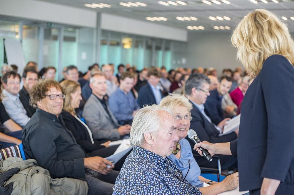 Jooske Baris in gesprek met zaal over hoogbouw