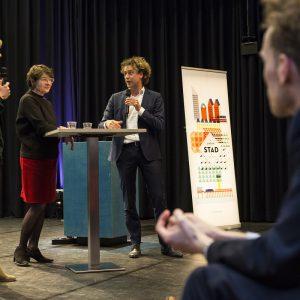 Jeroen Frissen en Nicola Körnig in gesprek over Zuidwest Den Haag