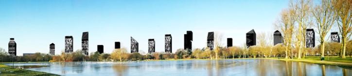 torens rondom het Zuiderpark