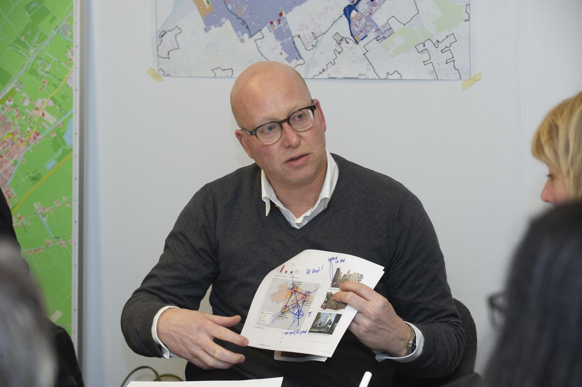 tekening koppelen CID en Binckhorst
