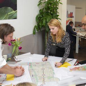 workshop kansen voor de Goeverneurlaan in Laak