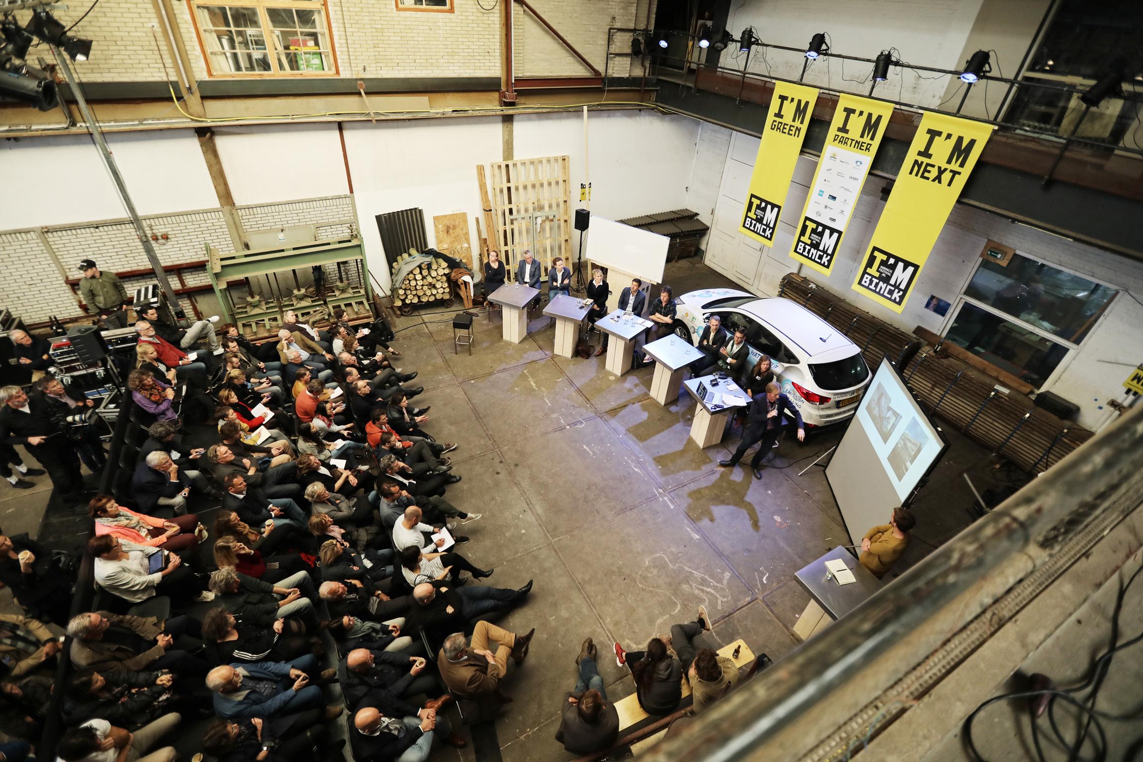 bijeenkomst in de binckhorst