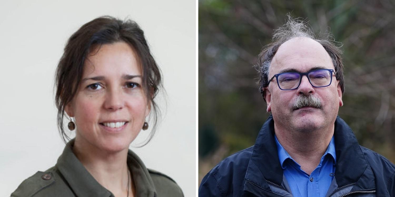 wetenschappers john grin en ellen van bueren actief op de binckhorst