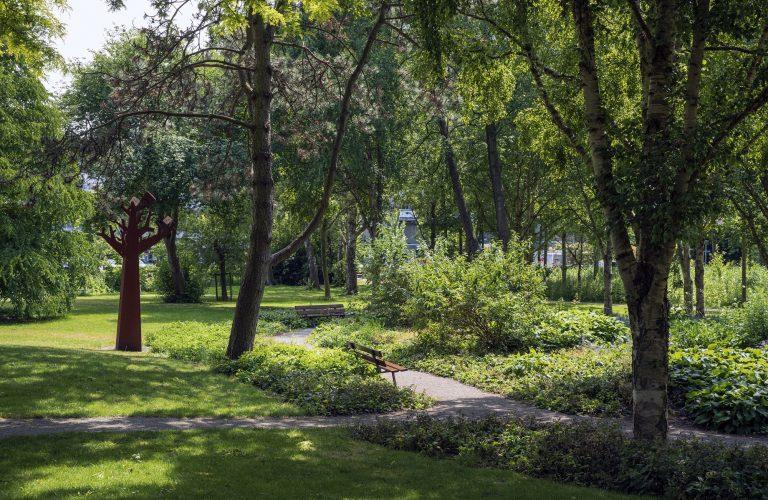 wijkpark de horst met kunst en groen