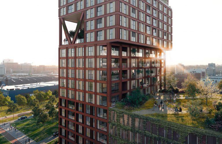 natuurinclusieve hoogbouw in binck blocks