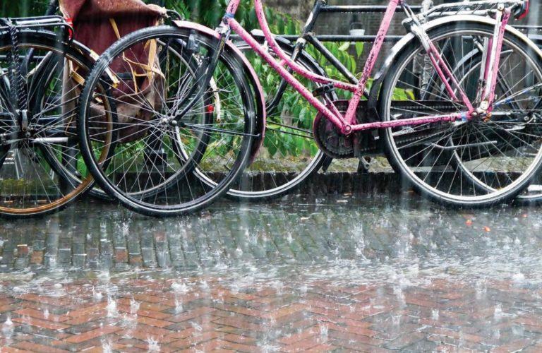 hevige regenbui