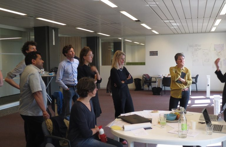 deelnemers ontwerpmanifestatie publieke ruimte als ontmoetingsmotor