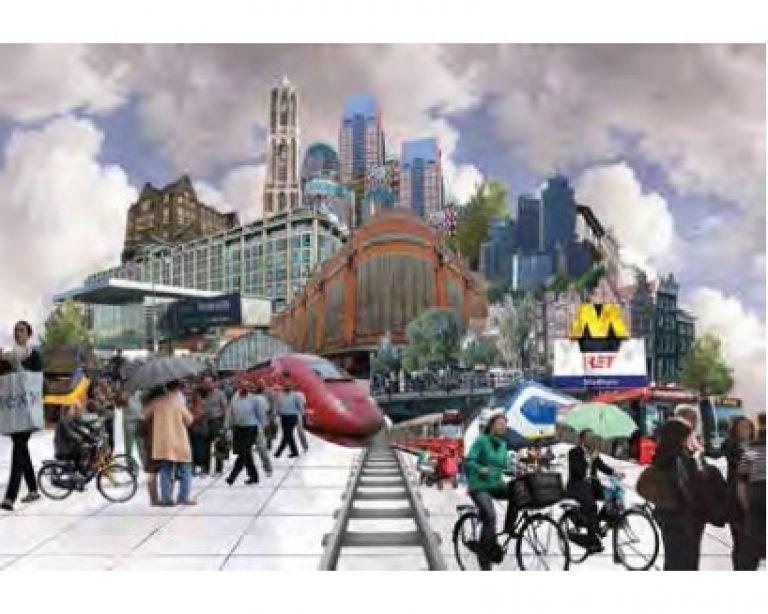 mogelijke toekomstbeelden voor Den Haag